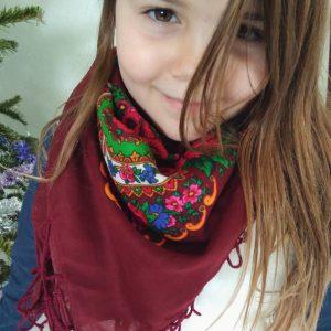 foulard slave bordeaux enfant