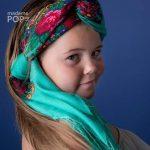 mariochka foulard slave menthe