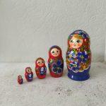 Matriochka Bleu et Rouge : Basha