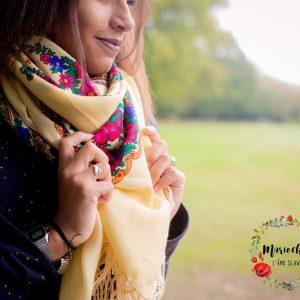 foulard slave mariochka vanille
