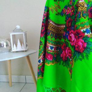 mariochka-vert vif- foulard slave