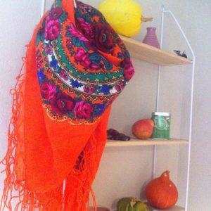 foulard slave orange