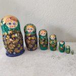 Grande Matriochka 7 poupees : Katherina