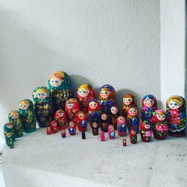 la famille de matriochka