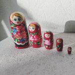 Matriochka petite rouge classique : Iwona